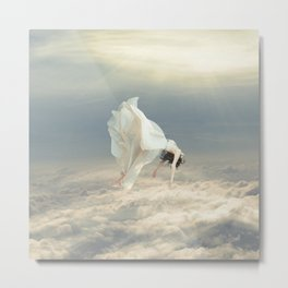 Free Falling Dream Metal Print