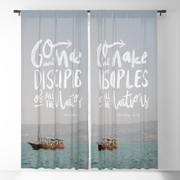 The Great Commission Bible Institute Print - 2 Blackout Curtain