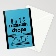 Drops In The River Stationery Cards