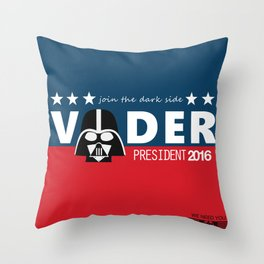 Death Star needs you ! Throw Pillow