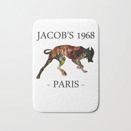 Mad Dog II Contour White Colors Jacob's 1968 urban fashion Paris Bath Mat