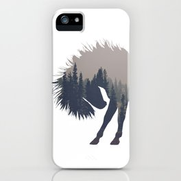 Woodland Horse iPhone Case