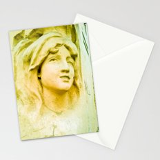 Hopeful and with great faith. Stationery Cards