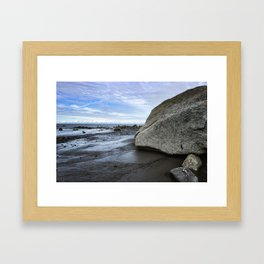 Kenai Beach Framed Art Print