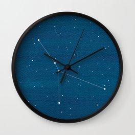 Cancer zodiac constellation Wall Clock