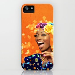 Just a random girl iPhone Case