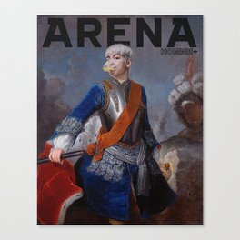 King TOP for Arena Homme Canvas Print