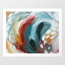 Our Place By The Water Art Print