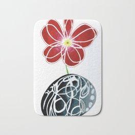 Flower Jug Bath Mat