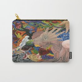 """Realization: Reaching for the Untouchable"" Carry-All Pouch"