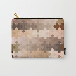 Skin Tone Jigsaw Pieces Carry-All Pouch