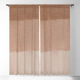 Dusty Rose Ombre Stripes | Corbin Henry Blackout Curtain