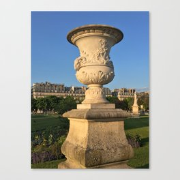 Golden Hour in Paris Canvas Print
