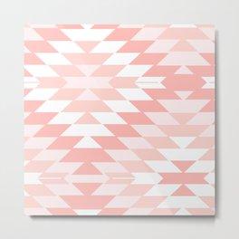 San Pedro in Pastel Pink Metal Print