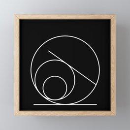 Equilibrio:01 Framed Mini Art Print