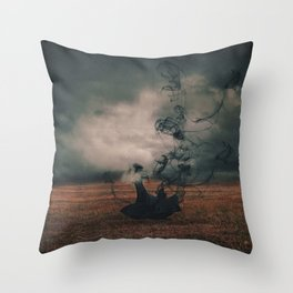 The Dissipate Throw Pillow