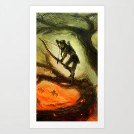 Last Stand Art Print