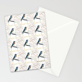 Bluebird of Happiness Stationery Cards