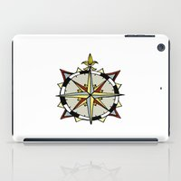 compass iPad Cases featuring Compass by Indigo22