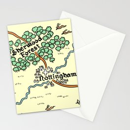Sherwood Forest Stationery Cards