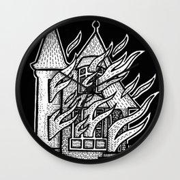 Burn Mother F##ker, Burn Wall Clock