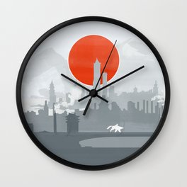 Avatar The Legend of Korra Poster Wall Clock