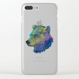 Space Bear! Clear iPhone Case