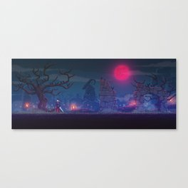 The Bloodmoon Canvas Print