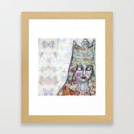 Butterfly Crown by Jane Davenport Framed Art Print
