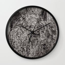Agrizoophobia  Wall Clock