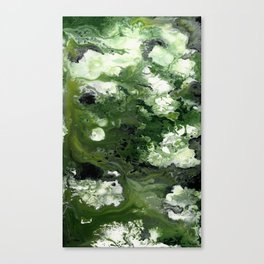 Abstract Acrylic Painting THE FOREST Canvas Print