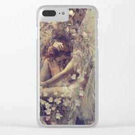 Hidden Sorrow Clear iPhone Case