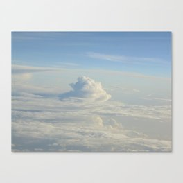 El Barco en el Mar Canvas Print