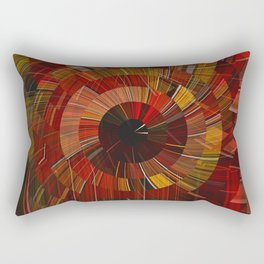 Royal Fireworks Rectangular Pillow