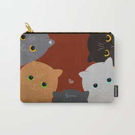 Cats Carry-All Pouch