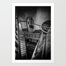Never Ending Stairs Art Print