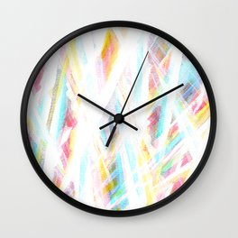 Color Rays Wall Clock
