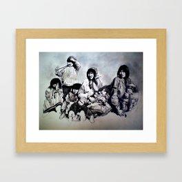 Spirit of the Family Framed Art Print