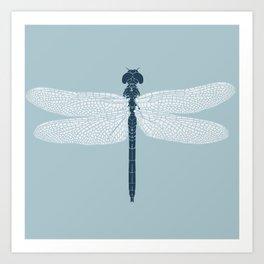 dragonfly v3 Art Print