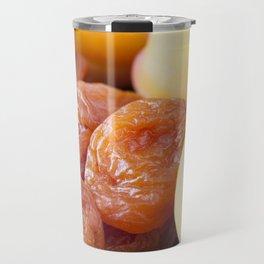 very dried apricots Travel Mug