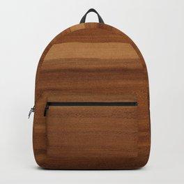 Wooden decor furniture patter Backpack