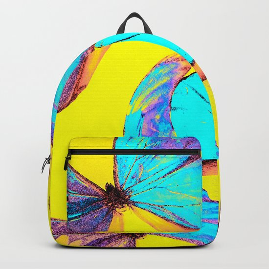 Shiny and colorful butterflies #decor #buyart #society6 Backpack
