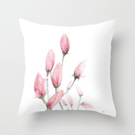 Pinkness I Throw Pillow