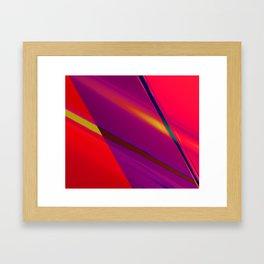 Fractal Lasertag Framed Art Print
