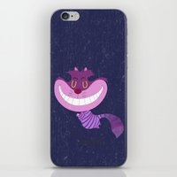 cheshire cat iPhone & iPod Skins featuring Cheshire by Rod Perich