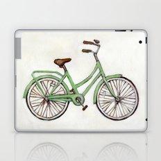 Bicycle / Green Cruiser Laptop & iPad Skin