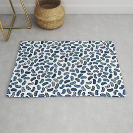 Mitochondria on Blue Rug