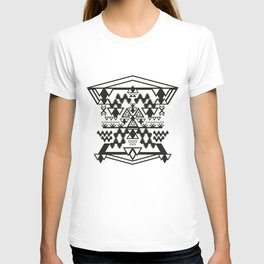 Black & White Construct T-shirt