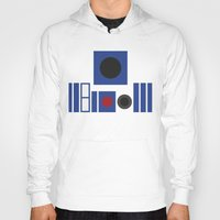 r2d2 Hoodies featuring R2D2 by VineDesign