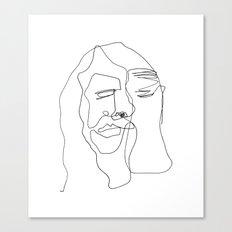 Portrait of Jesus Canvas Print
